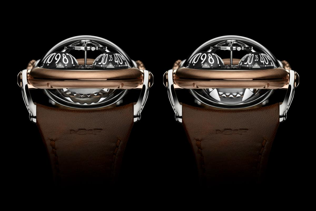 The HM10 Bulldog's jaws indicate its power reserve