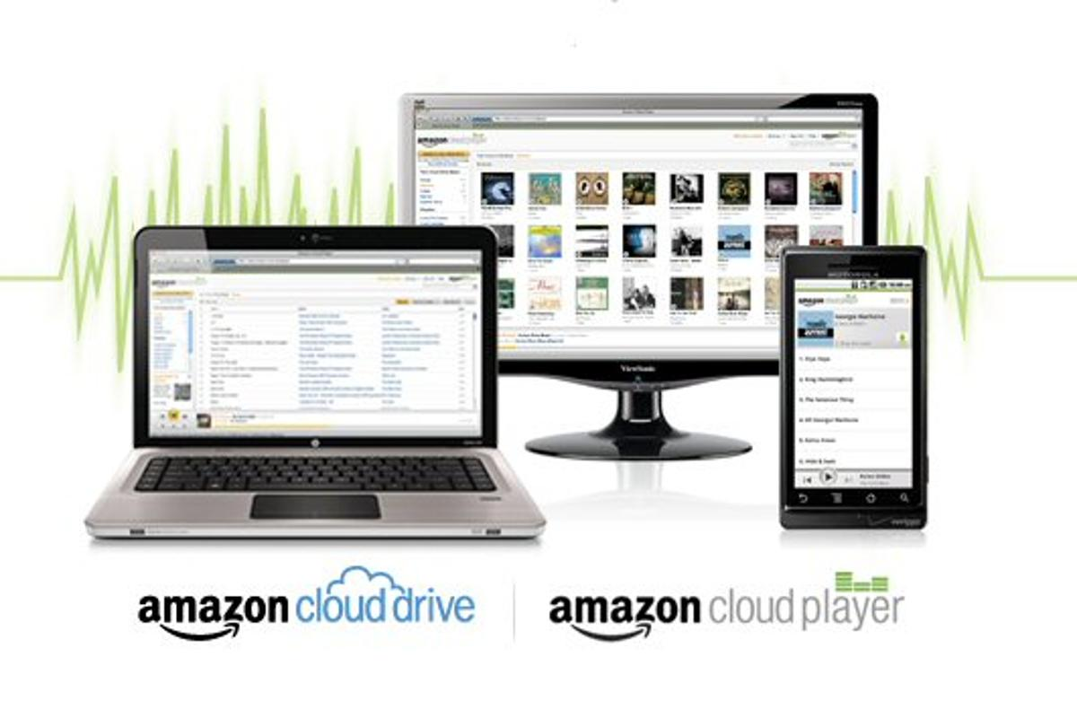 Amazon has announced the U.S. launch of new cloud storage and media playback services that allow users to securely store and access files and music from any web-connected PC or Mac, or Android phone or tablet