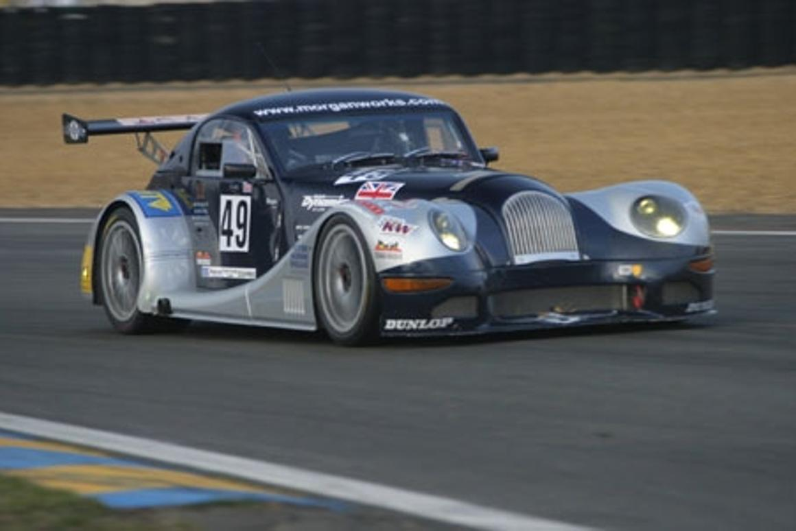 The Morgan Aero 8 Le Mans