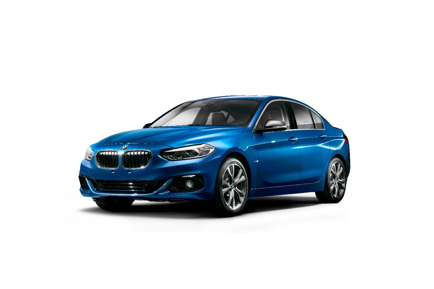 The 1 Series Sedan is China-only