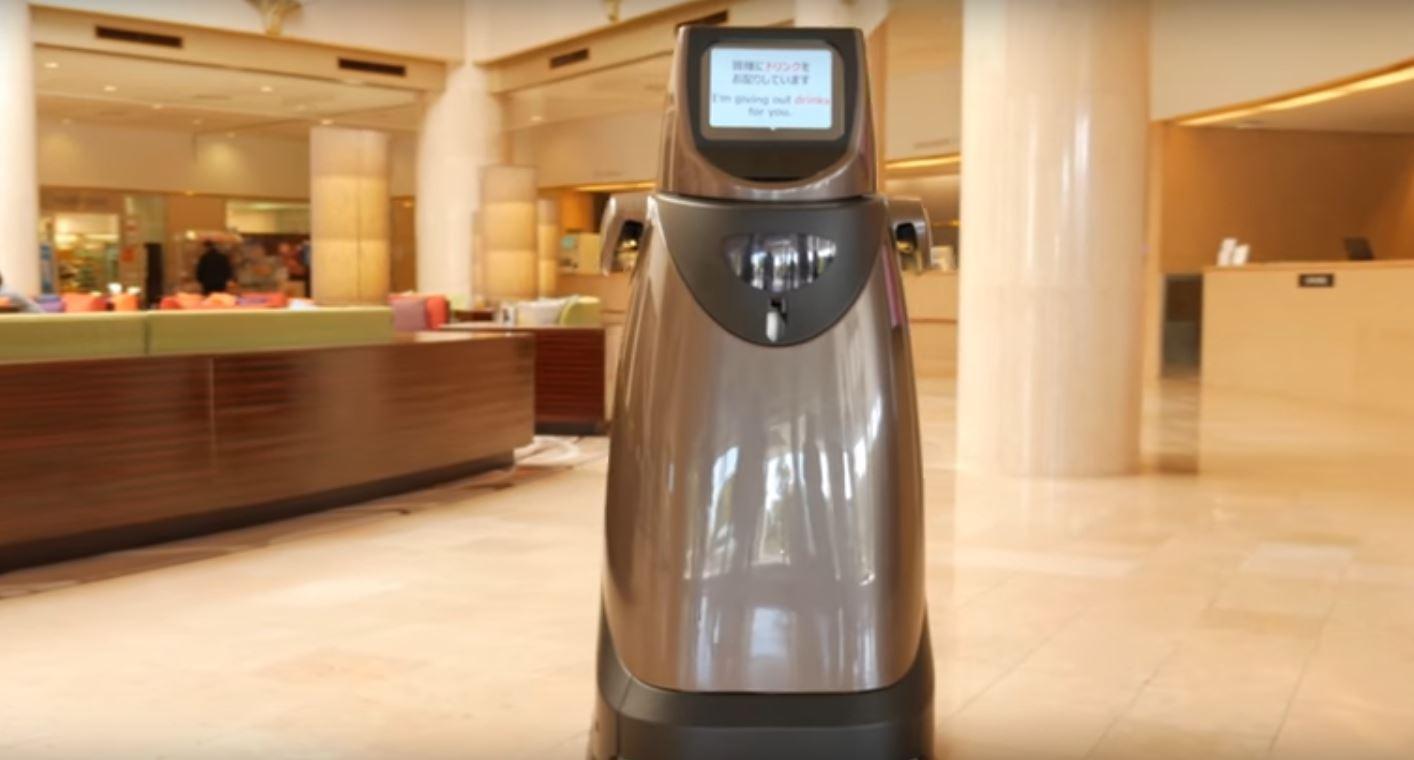 TheHOSPI(R) Autonomous Delivery Robot was originally designed for hospitals