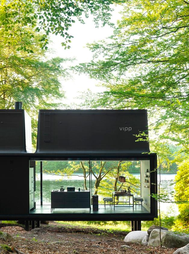 """TheVipp Shelter is described by the firm as a """"battery charging station for humans"""""""