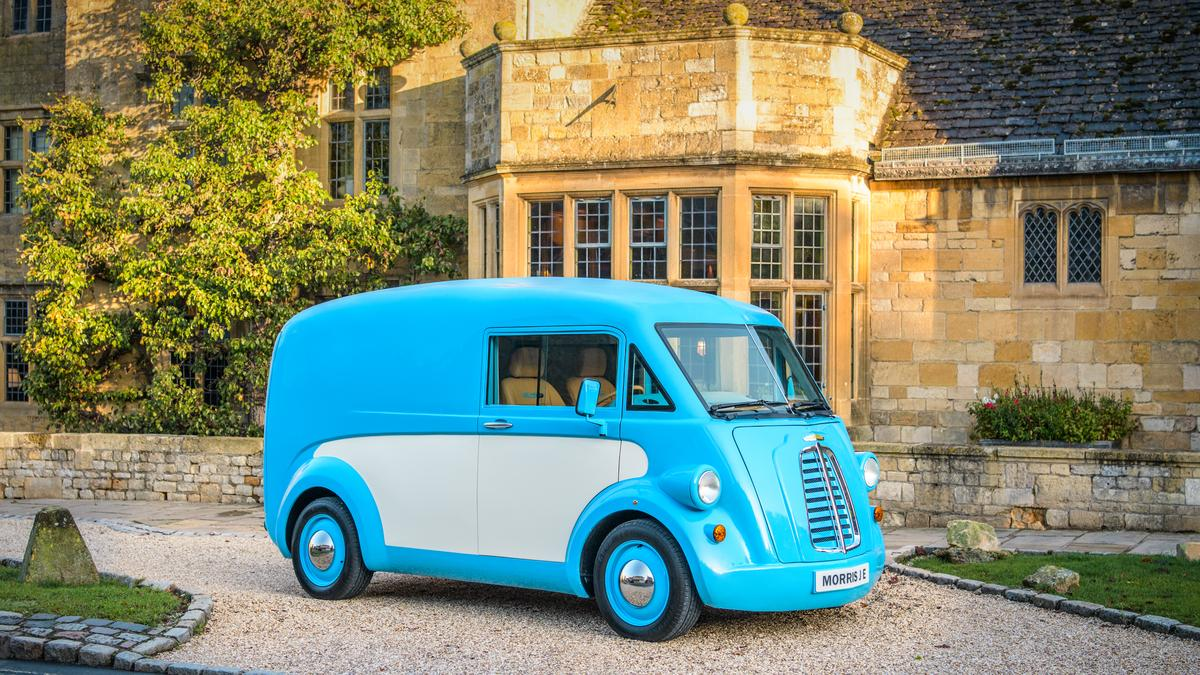 Morris JE van among the most adorable electric vehicles this lifetime