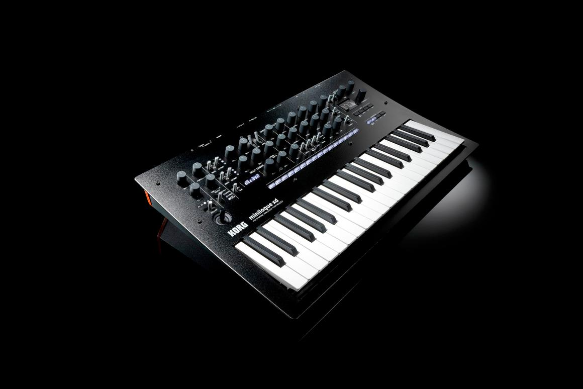 The minilogue xdnext-generation analog synthesizer from Korg