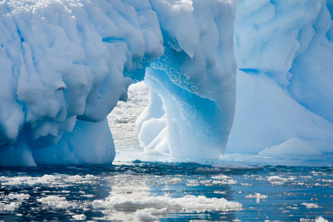 Melted glacial waters might themselves be a driver of global warming, a new study suggests