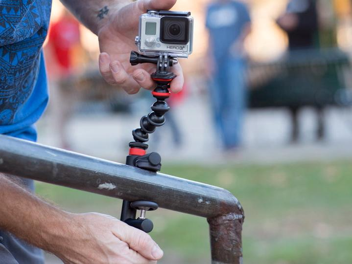 Joby's Action Clamp & GorillaPod Arm