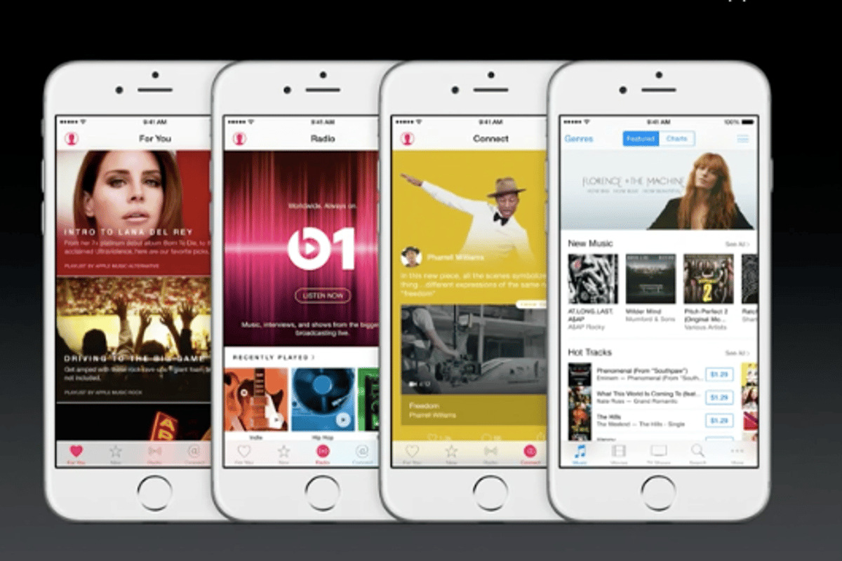 At Apple's WWDC, the company rolled out Apple Music – its biggest digital music revamp since the launch of the iTunes Store