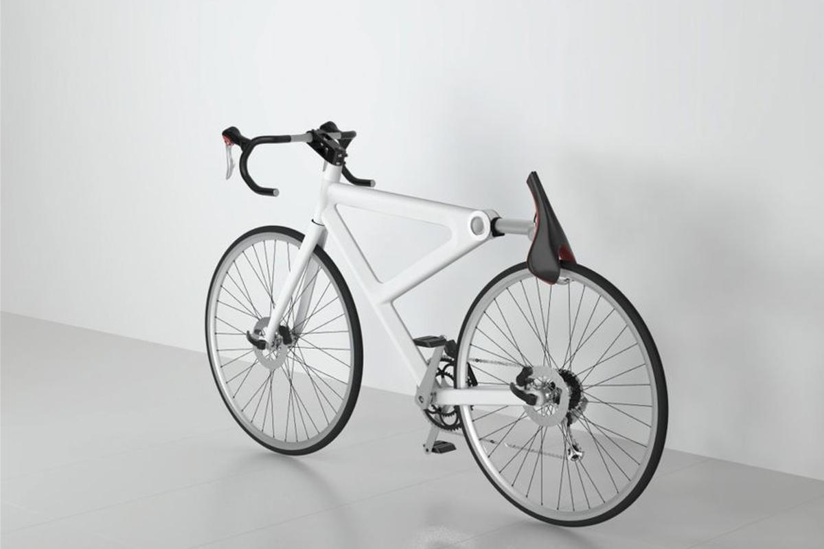 Saddle Lock is a concept design for a simple, efficient form of bicycle security