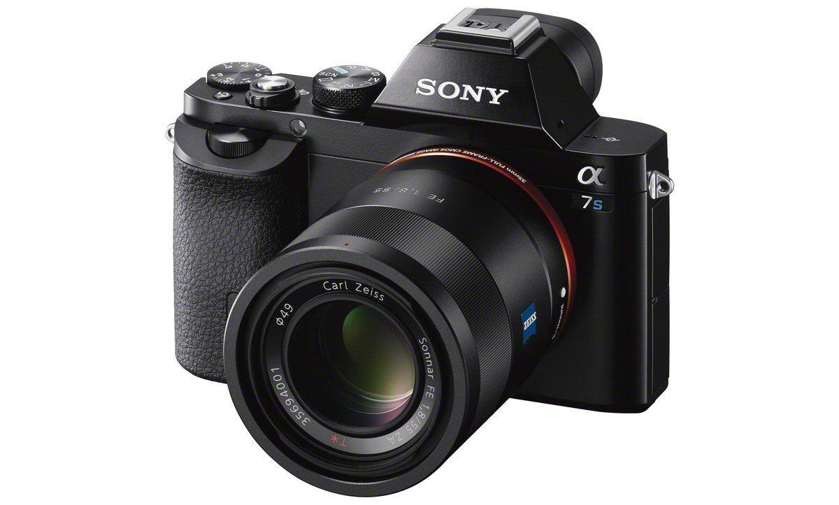 The new Sony α7S full-frame mirrorless interchangeable lens camera