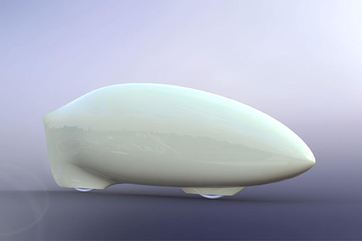 An early render of Eta's shape (Image: AeroVelo)