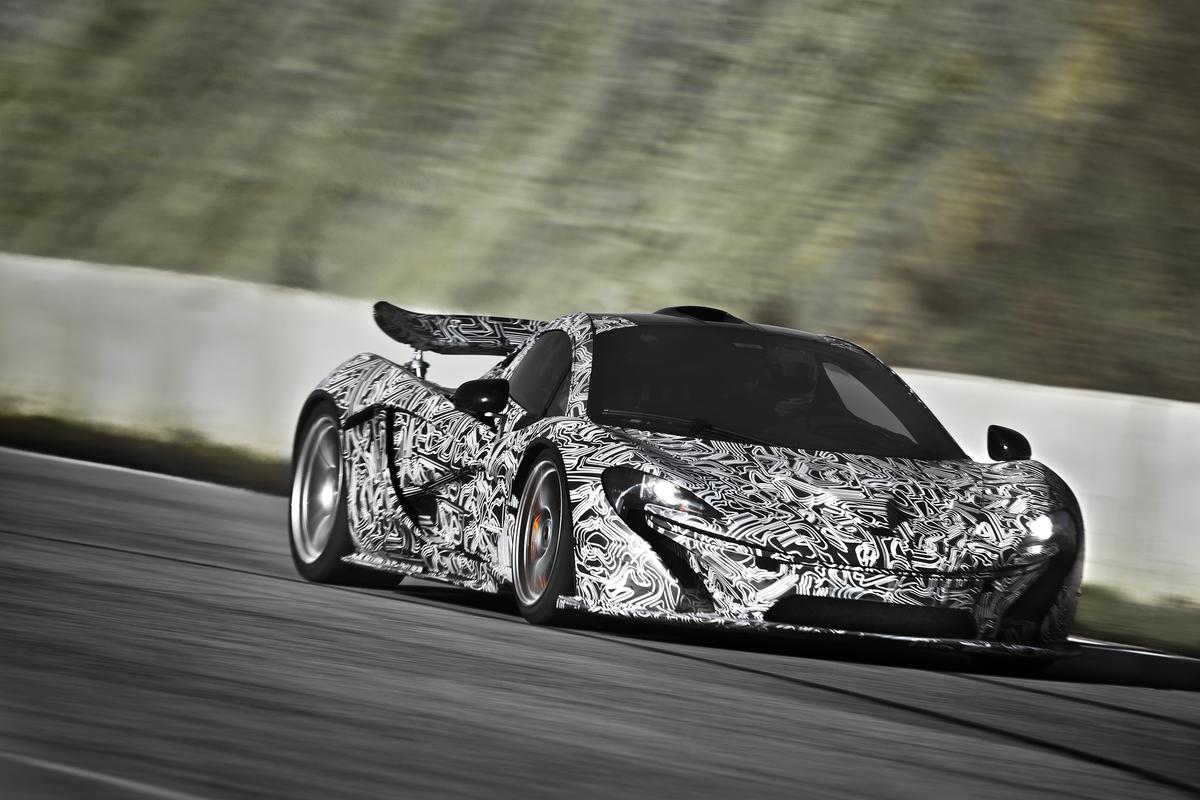 The McLaren P1 may be a hybrid, but it's no Prius