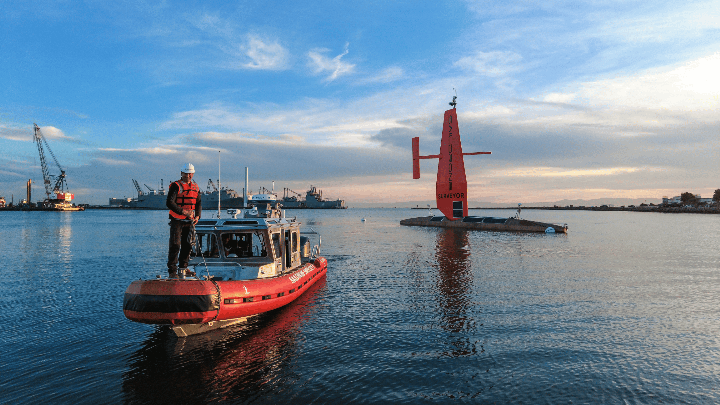 Saildrones are designed to remain at sea for up to 12 months at a time