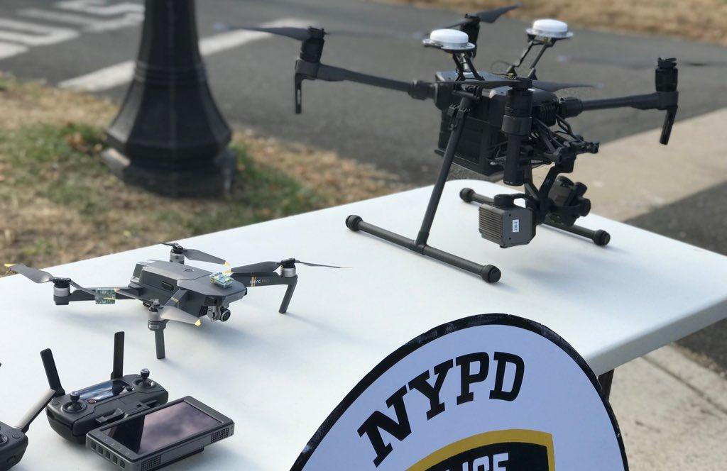 The NYPD's shiny new drones