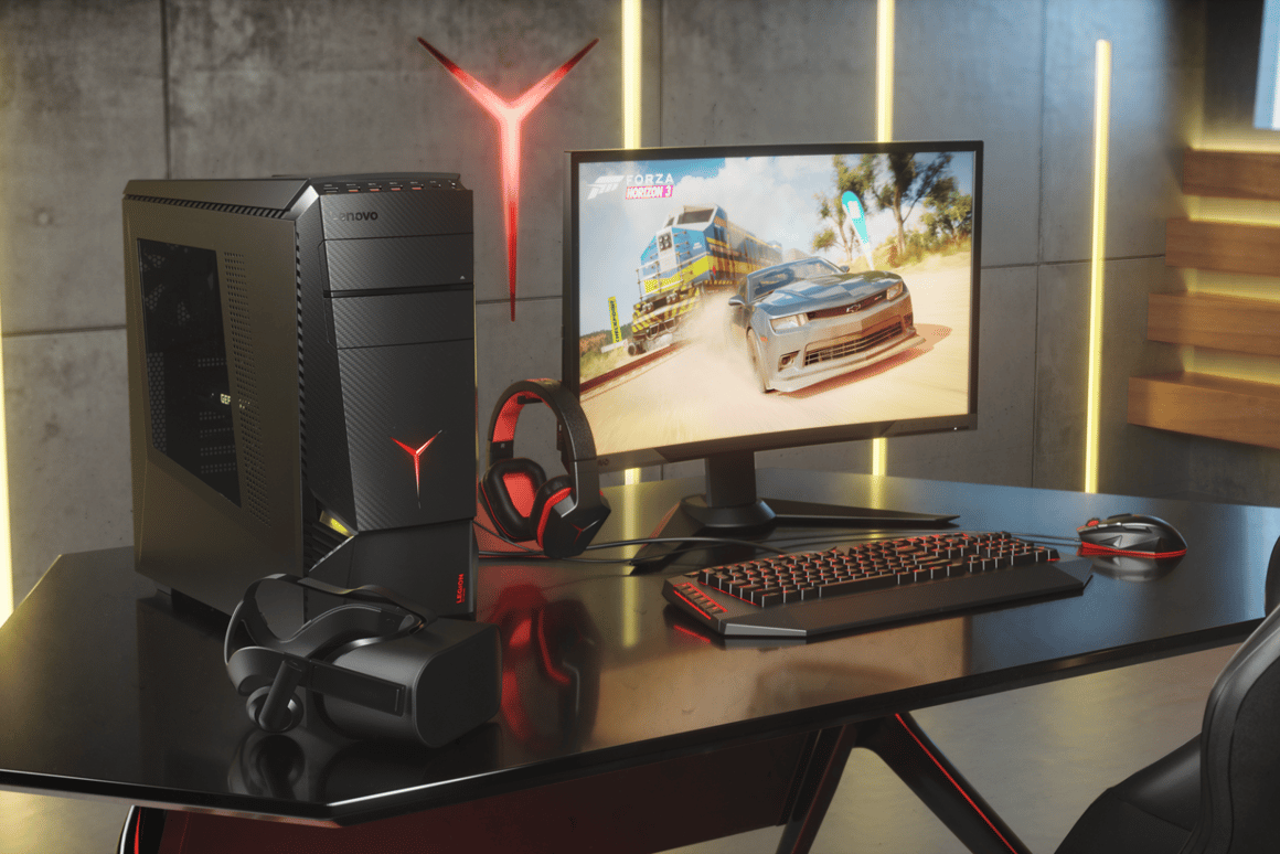 Lenovo leverages Legion line with launch of new gaming rigs