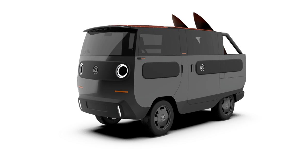 Modular eBussy is the adorable German e-van and camper of our dreams