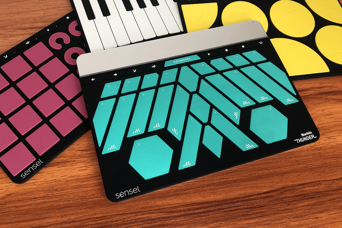 The Buchla Thunder is Sensel's first new Morph overlay since shipping the device to Kickstarter backers in 2017