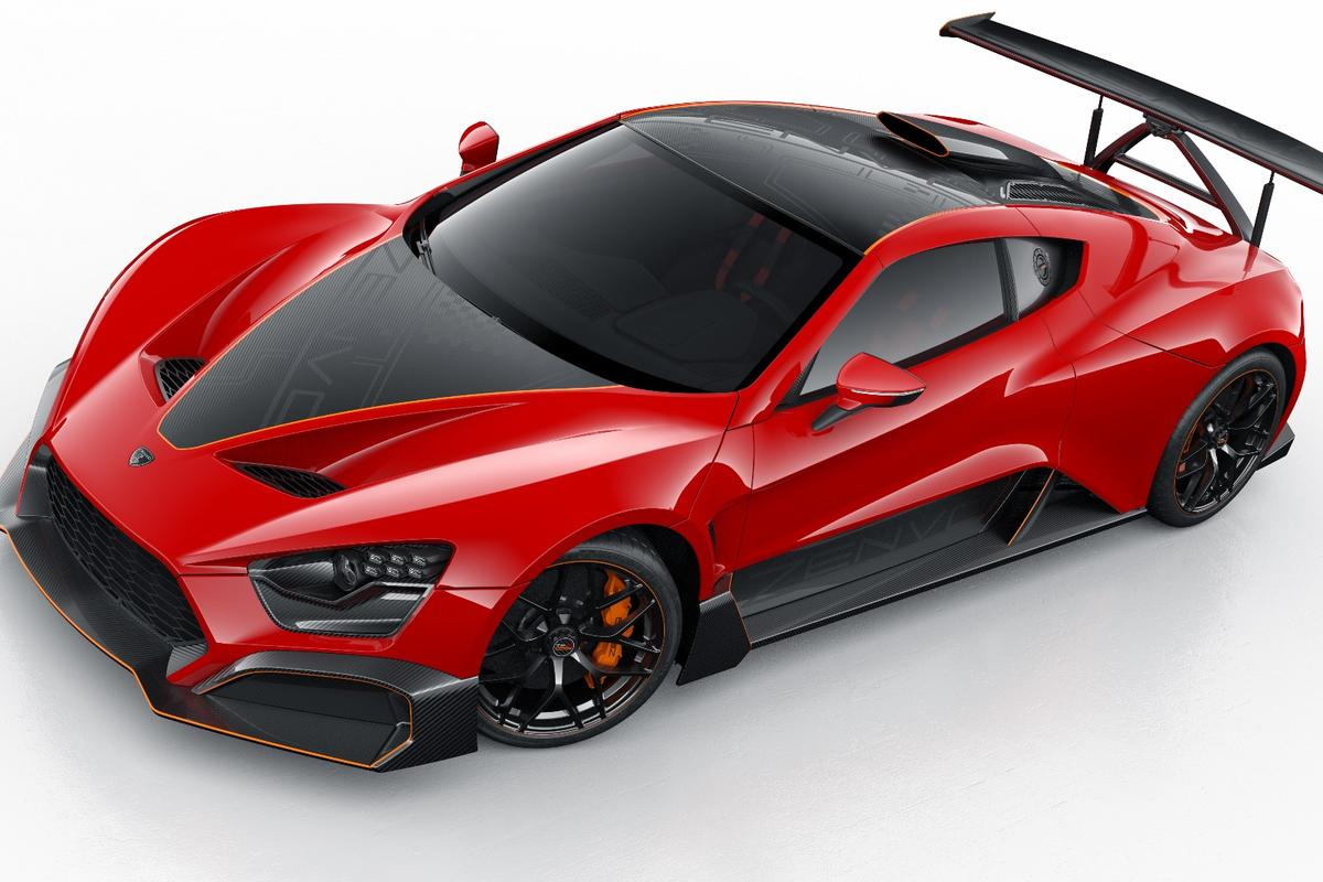 The Zenvo TSR-S is a brutal, 1,177-horsepower track beast with a very special gearbox and some of the most active rear wing aerodynamics we've seen