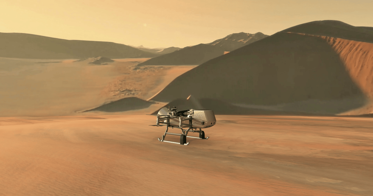 NASA announces new mission to explore Titan with flying rover