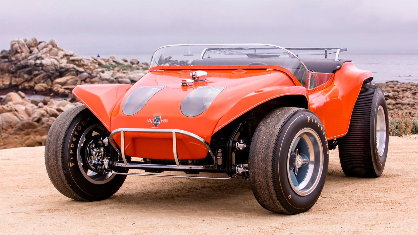 The customised Myers Manx dune buggy from the 1968 movie The Thomas Crown Affair will go to auction at Bonhams' Amelia Island auction in March, 2020.