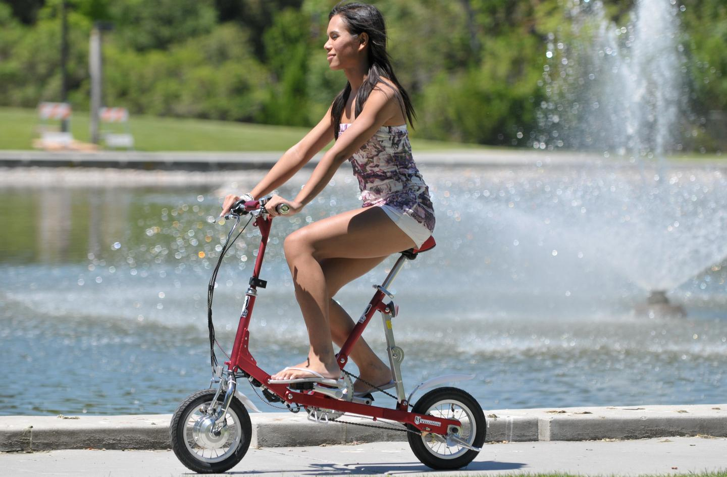 The VeloMini folding electric bike