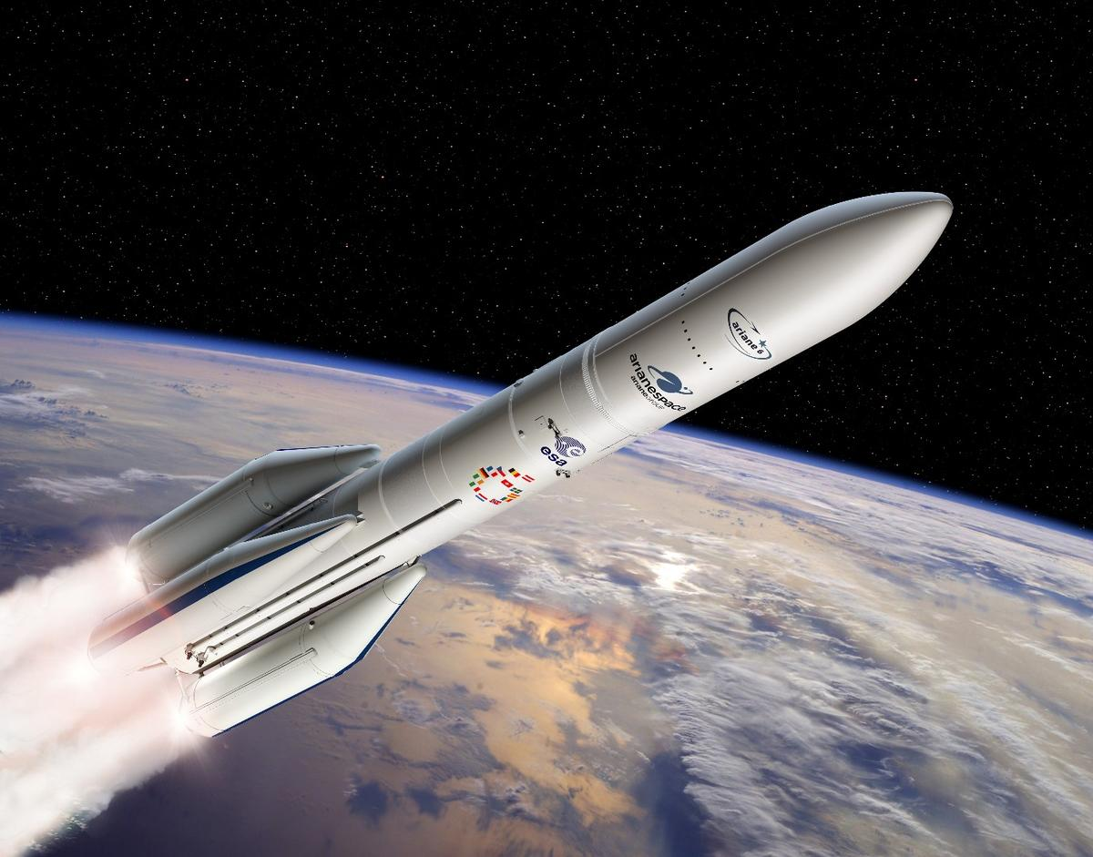 The P120C rocket motor will be used on the new-generationAriane 6 launcher from 2020