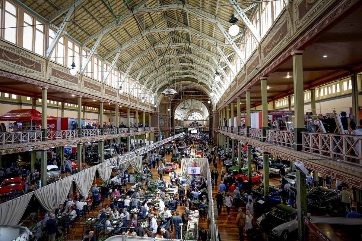 The Motorclassica venue was built for the Royal Exhibition of 1880-1881 and forms an ideal backdrop for a display of automotive heritage