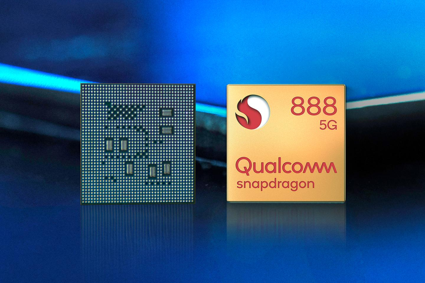 The Snapdragon 888 includes 5G and AI improvements