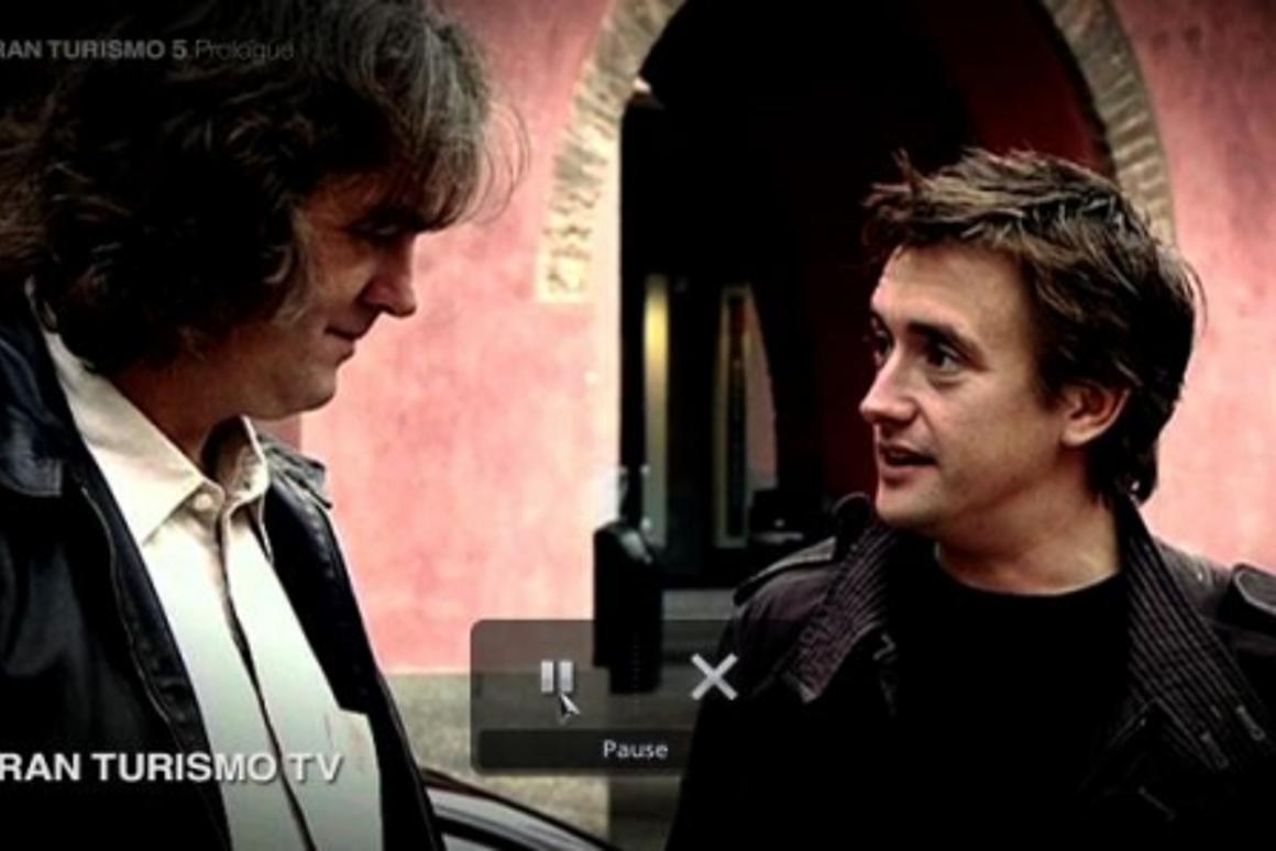 Top Gear's James May and Richard Hammond