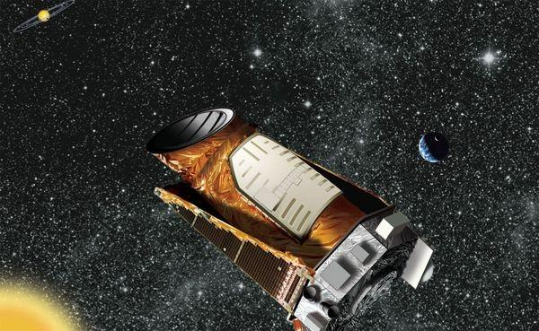 An artist's rendition of the Kepler spacecraft (Image: NASA)