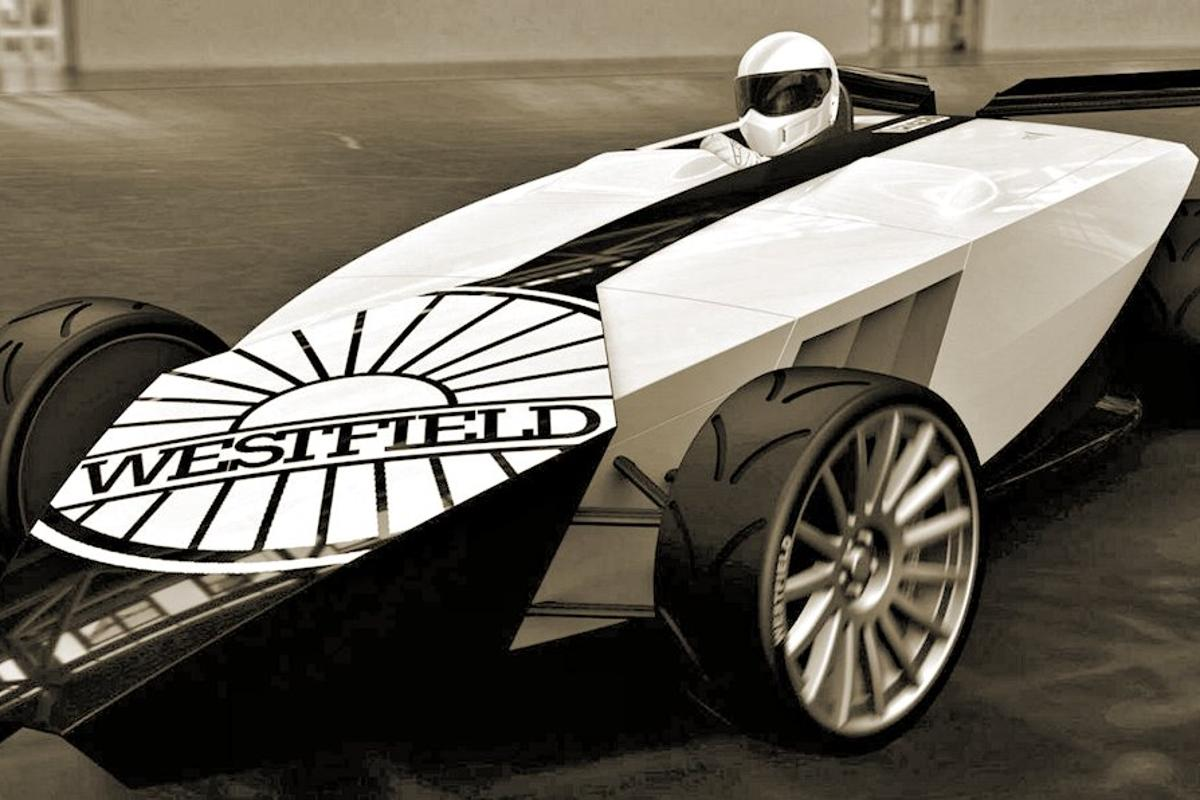 Westfield iRACER electric race car soon available in fit form (Photo: Westfield Sportscars)
