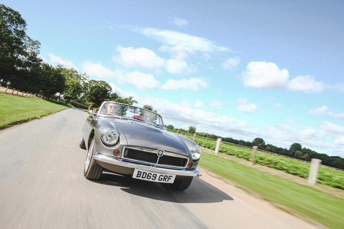 Plans call for an initial production run of 30 RBW EV Roadsters