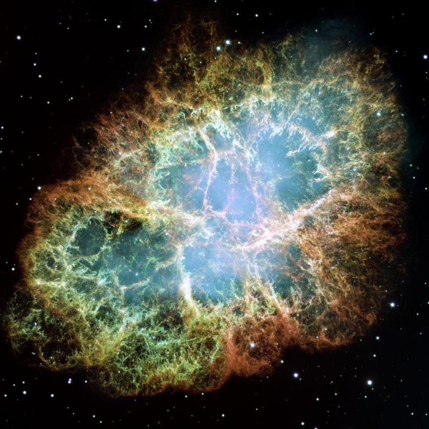 Supernovae, such as the one that created the Crab Nebula (pictured), are believed to be the source of a rare isotope found in Antarctic snow