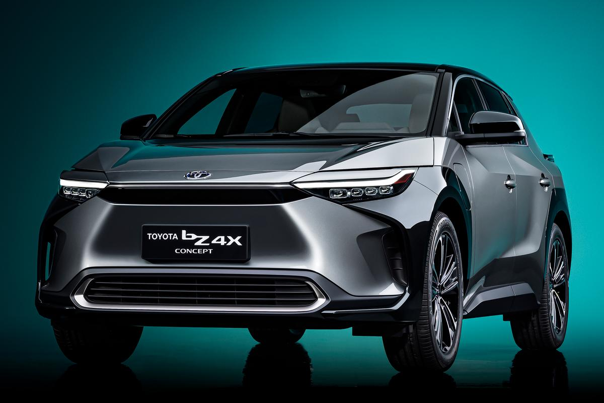 Toyota plans to begin sales of the bZ4X first in Japan and China, and then globally by the middle of 2022