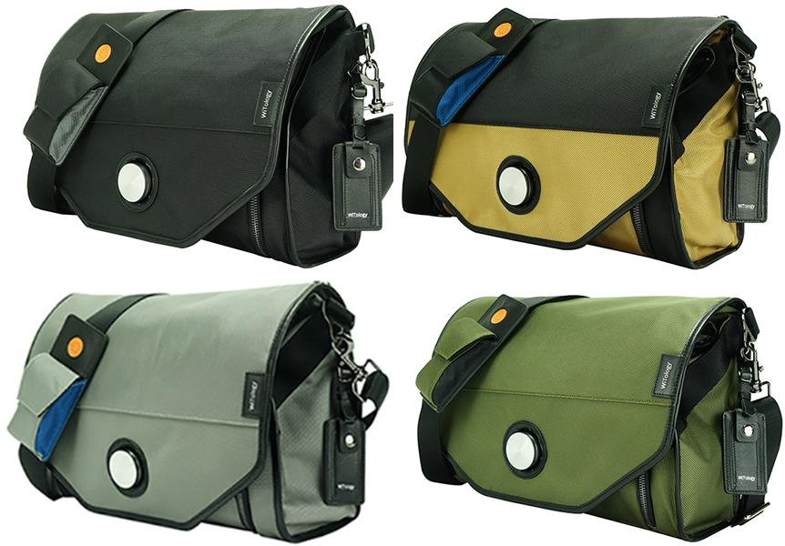 The Urban Messenger Bag comes in several colors