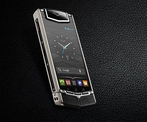 The Ti's crystal sapphire screen is virtually scratch-proof