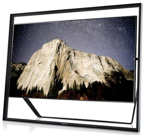 Samsung has announced that 55- and 65-inch UHD TVs are to join its 85-inch 4K LED model (shown) in June