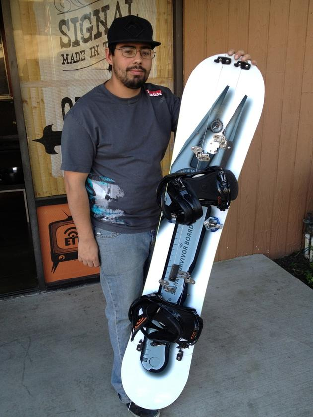 The multi-tool inspired board is complete Photo: Erin Paul Hines
