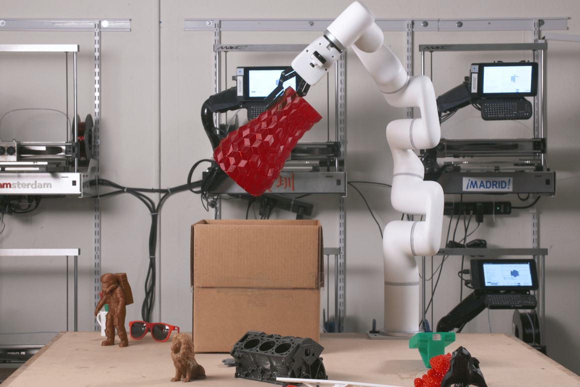 The xArm by UFactory is designed to be an accessible robotic arm for small and mid-sized businesses