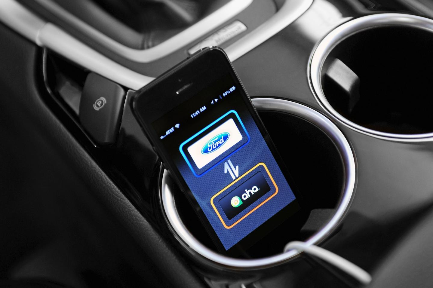 Meople.Connector makes use of Ford's SYNC AppLink, which allows users to control apps on their smartphone using voice activation