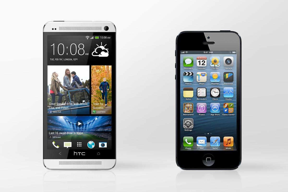We compare the specs - and other features - of the HTC One and iPhone 5