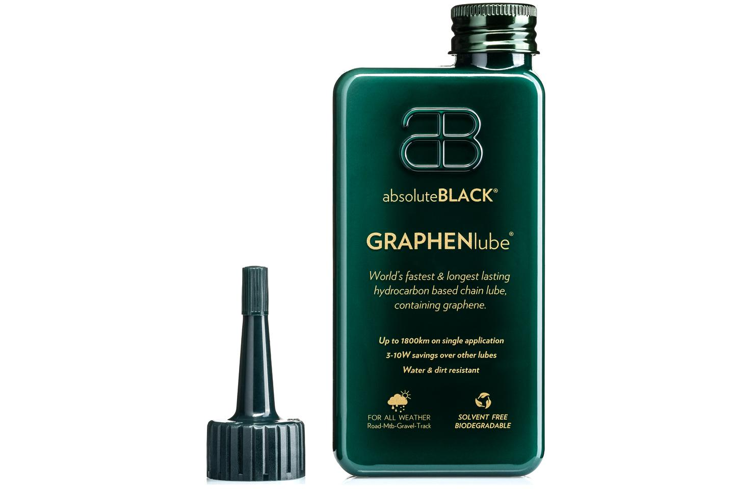 One application of GRAPHENlube is said to last for over 1,800 km (1,118 miles)