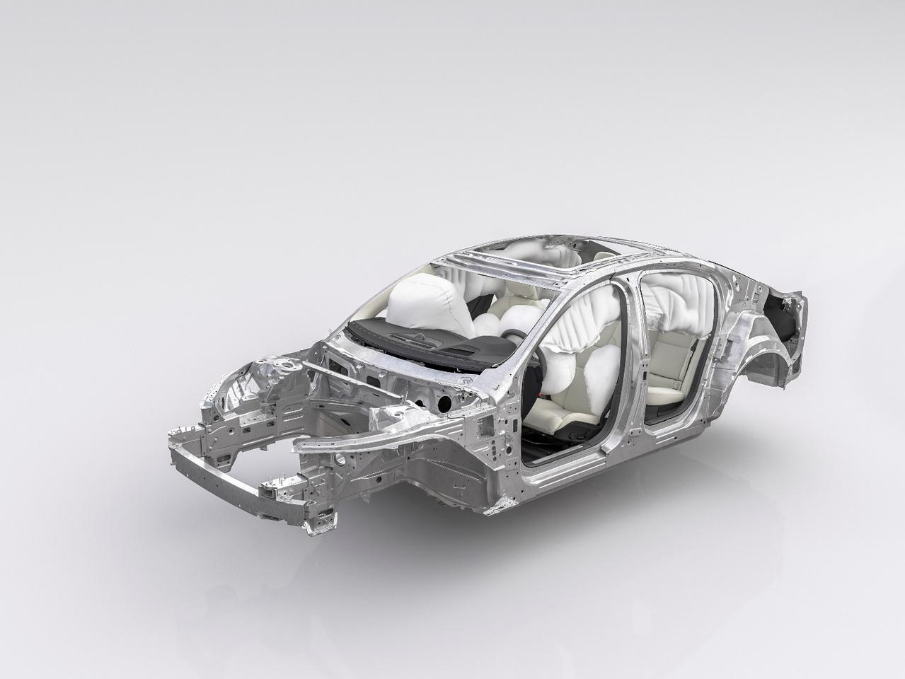 The new S60 is based on Volvo's SPA platform
