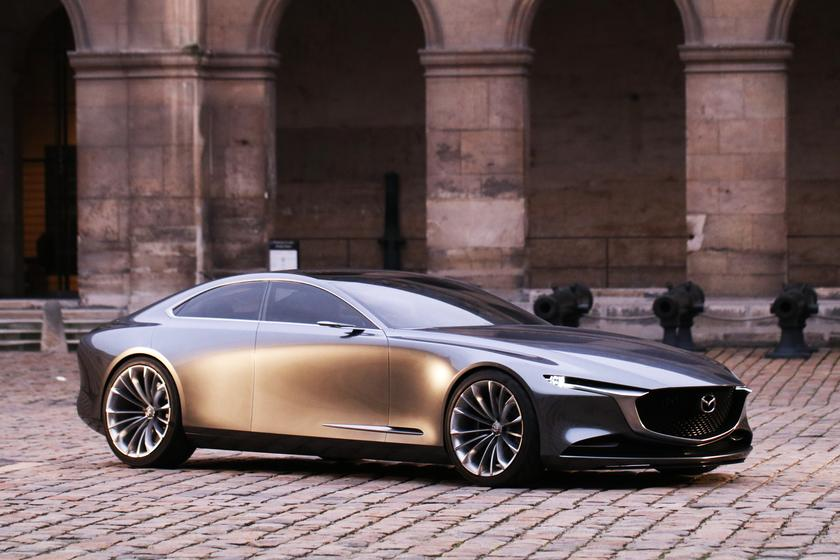 Mazda Vision Coupe wins