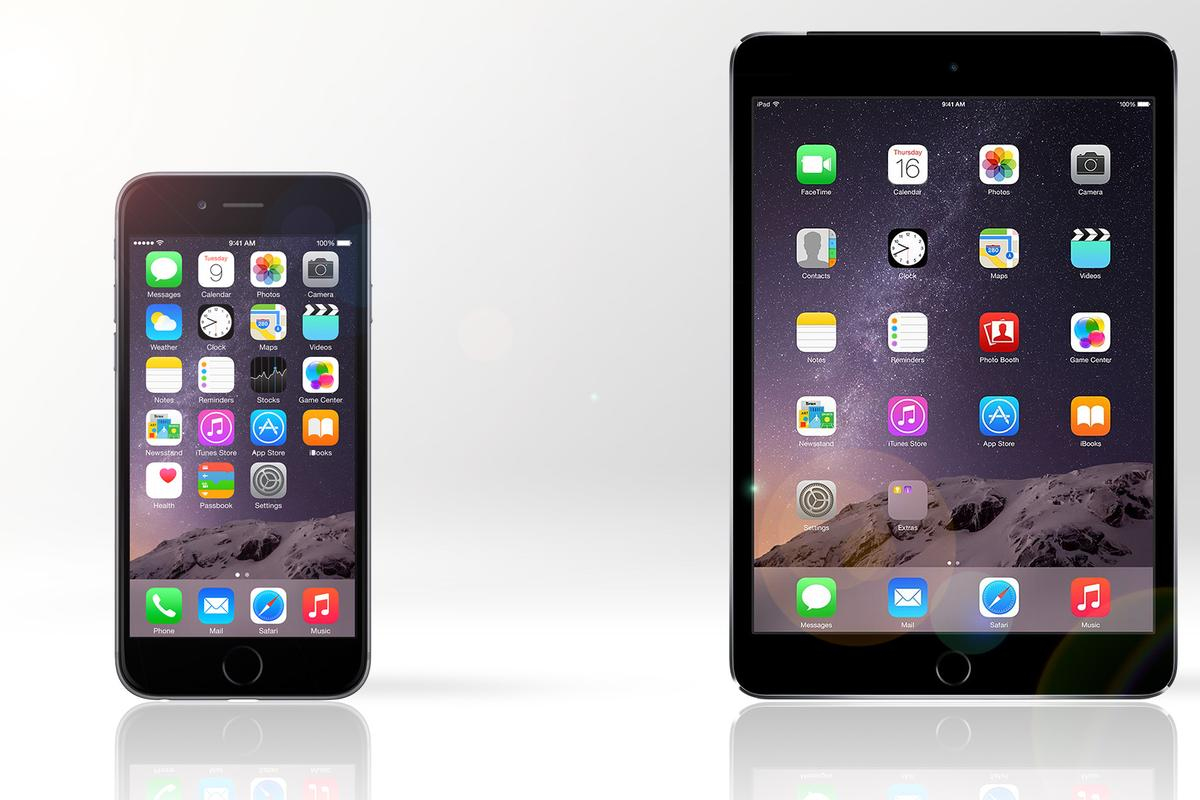 Gizmag compares the features and specs of the iPhone 6 Plus and iPad mini 3