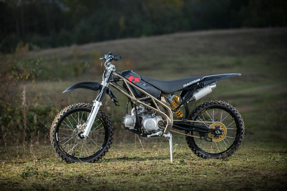 The svelte Mountain Moto FX5