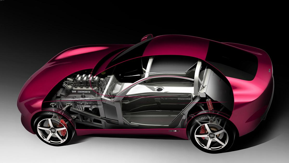 The new TVRwillweigh1200 kg dry, top200mph and sellfor less than £90,000