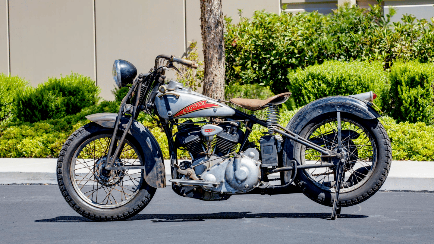 1936 Crocker Small Tank |Mecum | Estimated price range: $700,000 to $800,000 |Official Auction Page