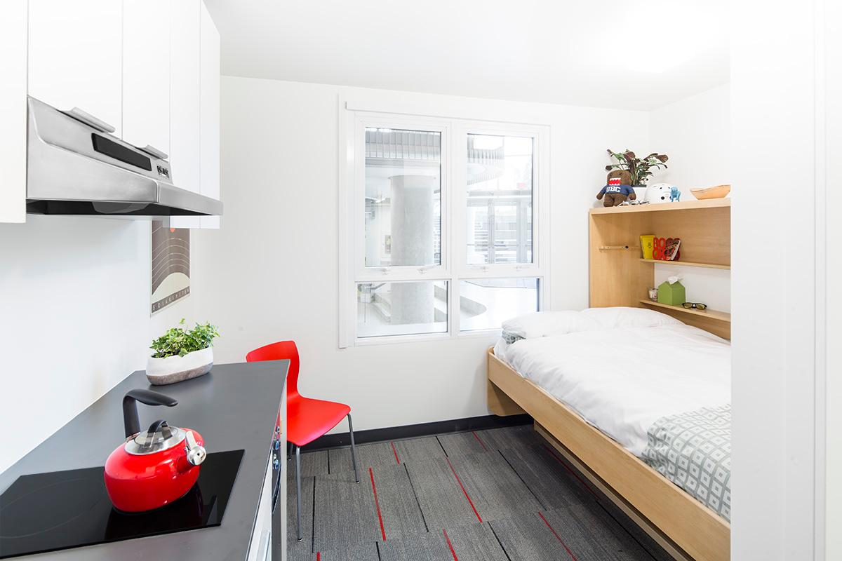 The Nano suites are aimed at going some way meeting the demand for affordable on-campus housing