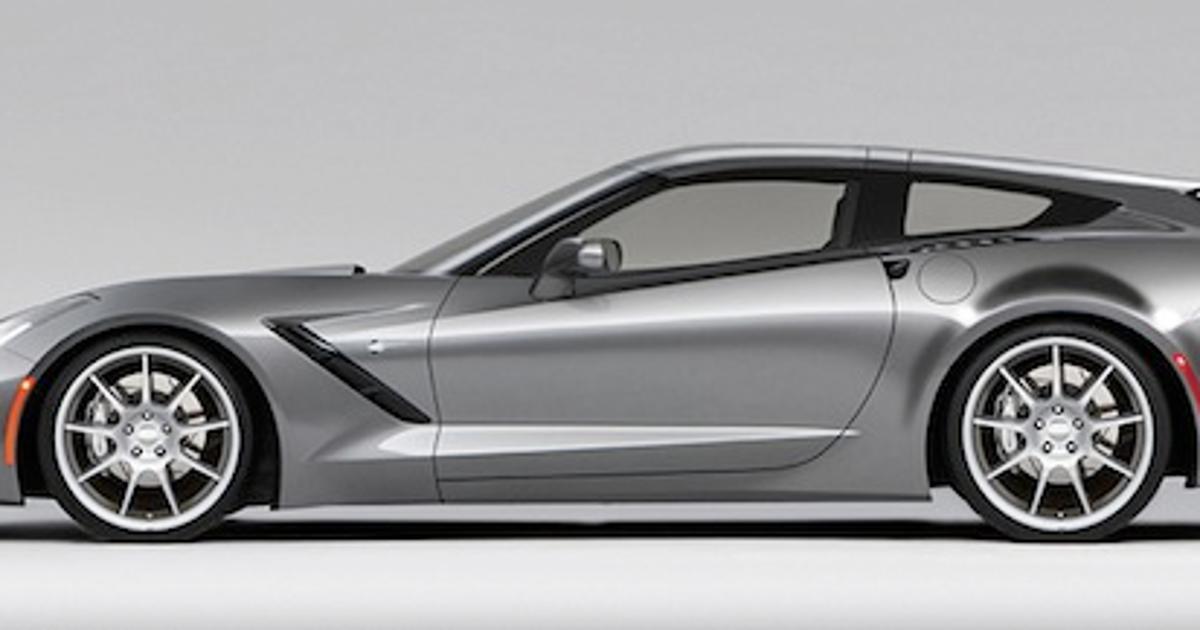Wagon, Go! | Callaway Corvette SC757 AeroWagen First Drive ...  |Callaway Stingray Wagon