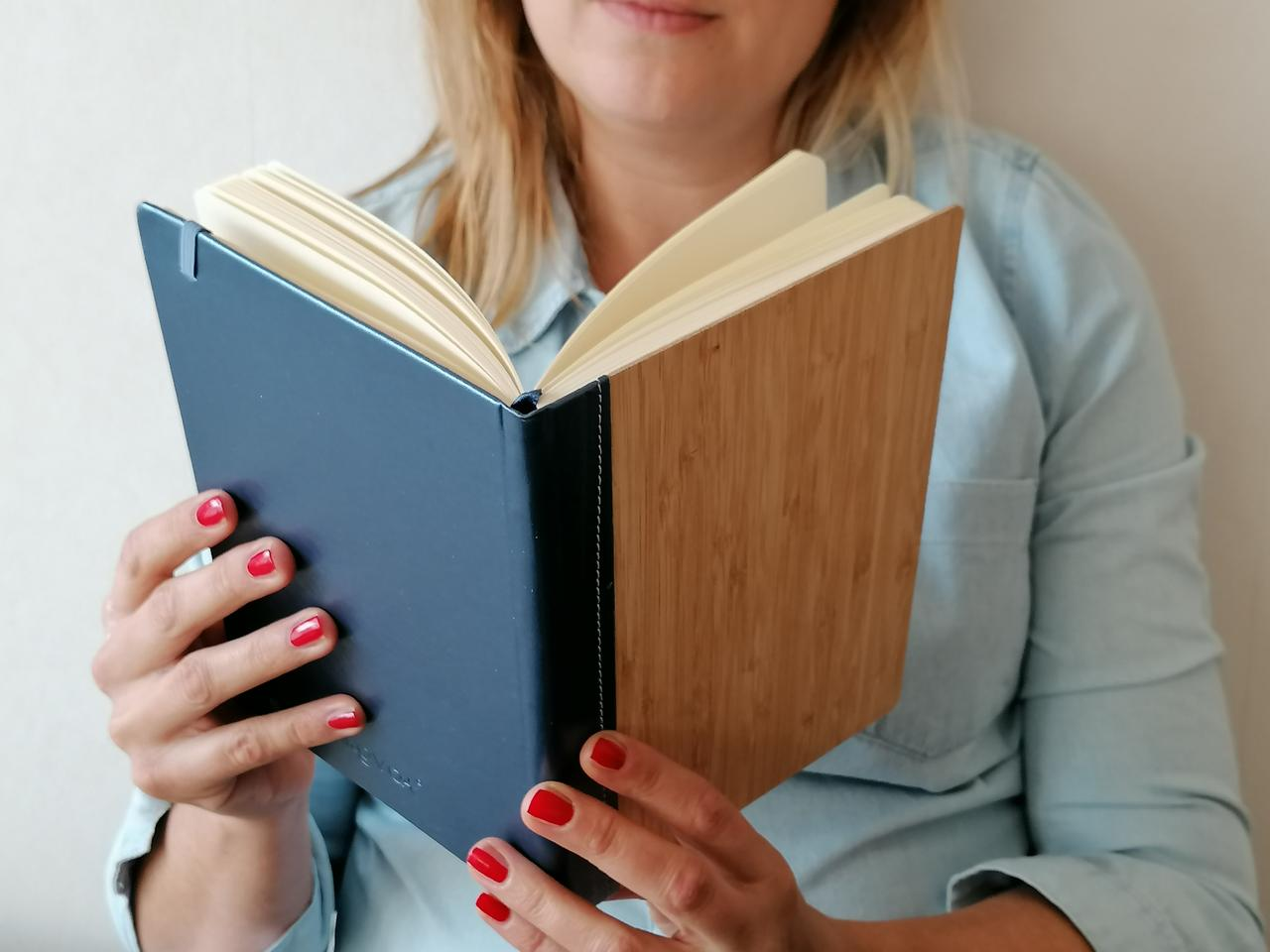 TheGVA Notebook is entirely made of sustainable materials
